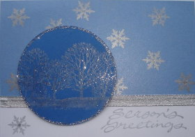 DIY Christmas Card: Seasons Greetings