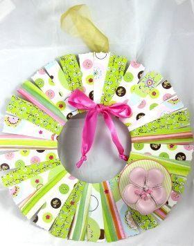 Wreath – Scrapbook Style