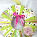 Wreath - Scrapbook Style