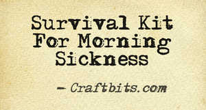Survival Kit For Morning Sickness