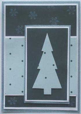 DIY Christmas Card: Polka Dot Tree