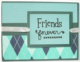Valentines Card – Friends Forever