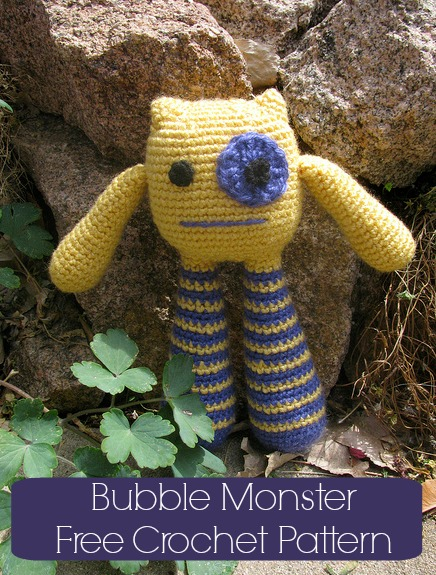 Amigurumi – Bubble Leg Monster