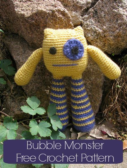 Amigurumi – Bubble Leg Monster