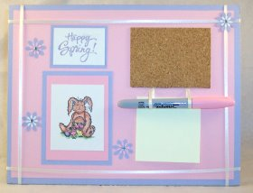 sticky notes noteboard