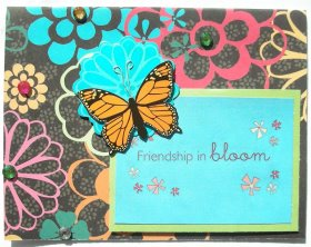 Cardmaking – Friendship In Bloom