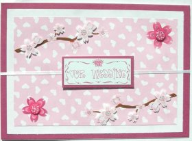 Cardmaking Idea – Our Wedding Card