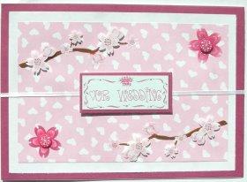 Cardmaking Idea – Our Wedding Card