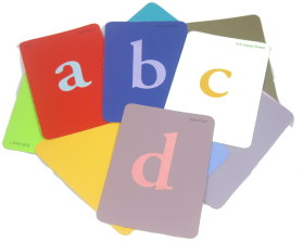 Paint Sample Flash Cards