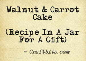 Walnut & Carrot Cake