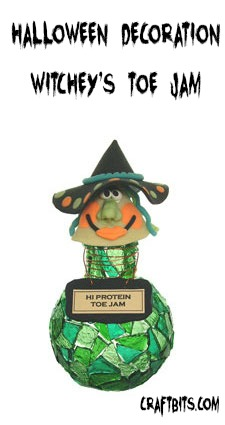 Halloween Decoration – Witchey's Toe Jam
