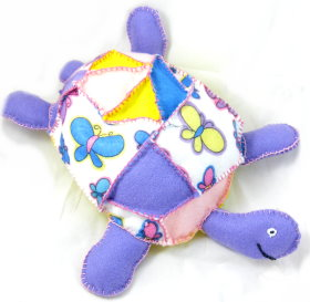 Plushie – Patchwork Turtle
