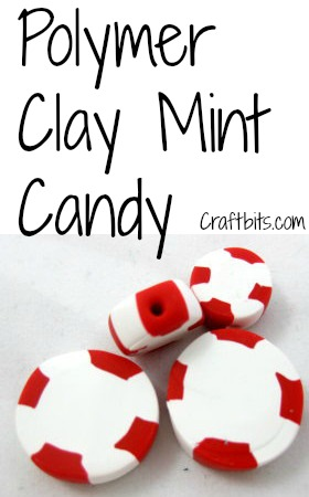 Polymer Clay Mint Christmas Candies
