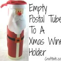 Santa Wine Bottle Tube