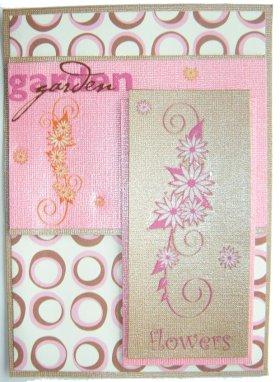 Cardmaking – Flowers In My Garden