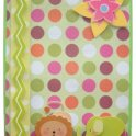 Polka Dotted Baby Card