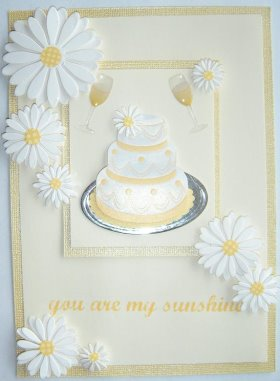 Cardmaking Idea – You Are My Sunshine