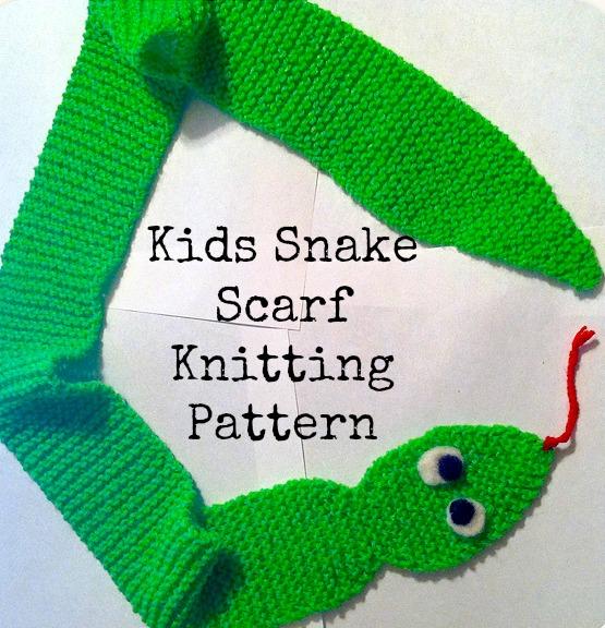 DIY Snake Scarf
