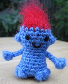 Troll Doll: Crochet Pattern