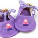 Felt Baby Shoe Pattern - Matryoshka Doll