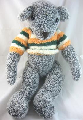 Recycled Sweater Teddy Bear