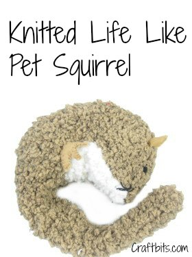 Life Like Pet Squirrel