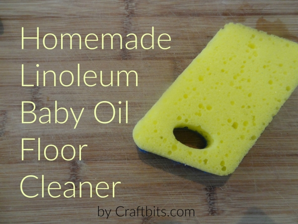 Linoleum Baby Oil Floor Cleaner