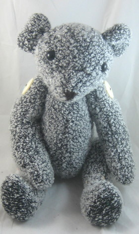 Small Recycled Teddy Bear