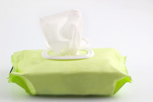 Homemade Chrome Cleaning Wipes