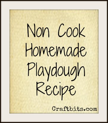 Playdough – Non Cook