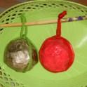 Paper Mache Potpourri Sachet Balls