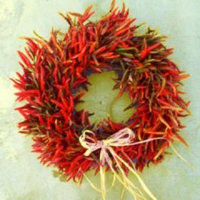 Chilli Pepper Wreath