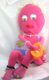 pink doll lady pattern