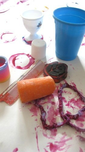 Object Stamp Painting