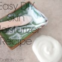 Skin Moisturiser Powdered Recipe