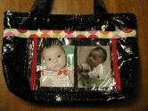 Handmade Photo Diaper Bag