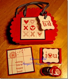 Valentine Gift Tote and Game