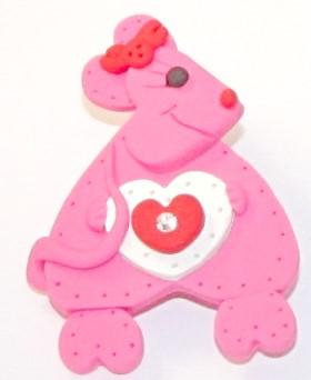 Valentine's Day Love Bear Pin