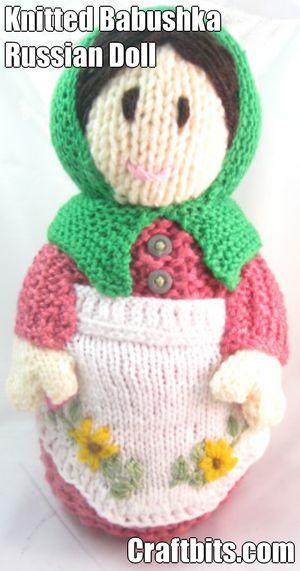 Babushka Russian Doll – Spring