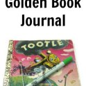 Upcycyled Golden Book Journal
