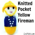 Knitted Pocket Yellow Fireman