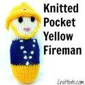 Knitted Pocket Yellow Fireman