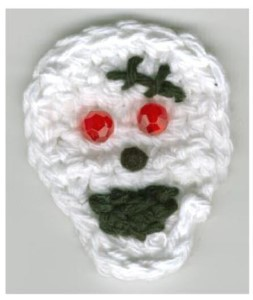 Skull Pin: Crochet Pattern — craftbits.com