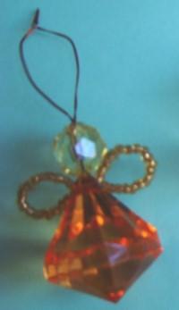 Tree Ornament – Crystal Angel