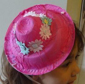 Paper Plate Easter Bonnet