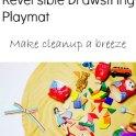 Reversible Drawstring Playmat