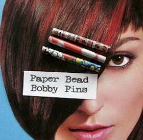 Paper Bead Bobby Pin