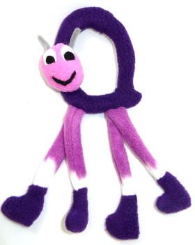 Carry Along Snail Soft Toy