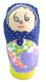 Plushie – Russian Matryoshka Doll