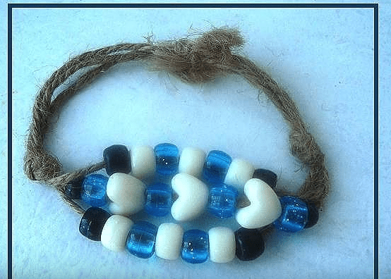 How to make a 3 cord bracelet